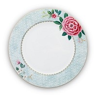 Pip Studio Assiette de Table 26,5 cm Blanc BLUSHING BIRDS
