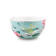 Pip Studio Bol PM 12 cm Bleu BLUSHING BIRDS