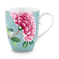 Pip Studio Mug GM Bleu BLUSHING BIRDS