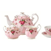 NEW COUNTRY ROSES Pink Sucrier ROYAL ALBERT