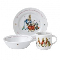 PETER RABBIT Girls Ensemble 3 Pièces WEDGWOOD