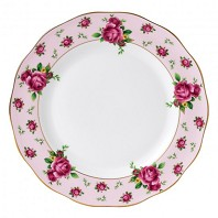 NEW COUNTRY ROSES PINK Assiette de Table ROYAL ALBERT