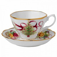 OLD COUNTRY ROSES CHRISTMAS Tasse à Thé ROYAL ALBERT