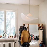 Suspension HAT Lampe Blanc ENO Studio
