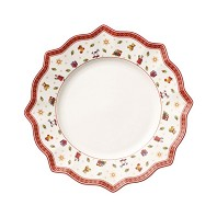 TOY'S DELIGHT Assiette de Table Blanche VILLEROY et BOCH
