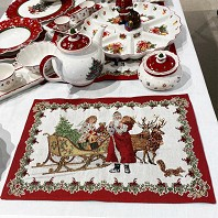 TOY S FANTASY Set de Table Gobelin Traineau VILLEROY & BOCH