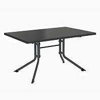 Table PLIANTE Aluminium Résine Rectangulaire KETTLER 140 x 95 cm Anthracite Anthracite