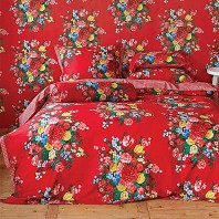 PIP Studio Housse Couette 200 x 200 cm + 2 Taies Dutch Painters Rouge