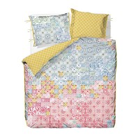 PIP Studio Housse Couette 200 x 200 cm + 2 Taies Mixedup Tiles Multi