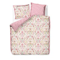 PIP STUDIO Housse Couette 200 x 200 cm + 2 Taies SEA STITCH Rose