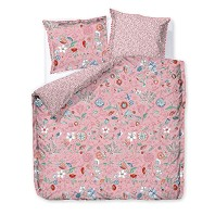 PIP STUDIO Housse Couette 200 x 200 cm + 2 Taies SPRING TO LIFE Rose