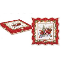 CHRISTMAS MEMORIES Coffret Plat Carré Etoile EASY LIFE