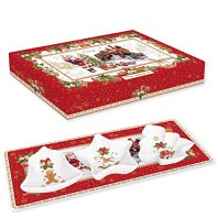 CHRISTMAS MEMORIES Coffret Set à Apéritif EASY LIFE