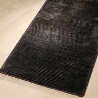 Tapis HAROLD Viscose HOME SPIRIT Chocolat