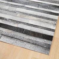 Tapis JACOB Cuir Gris Naturel HOME SPIRIT 200  x 300 cm