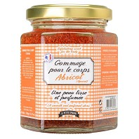 Pot de Confiture GEL EXFOLLIANT Abricot