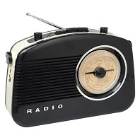 Radio Sixties Noire BLUETOOTH