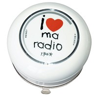Radio Douche Ventouse I Love My Radio