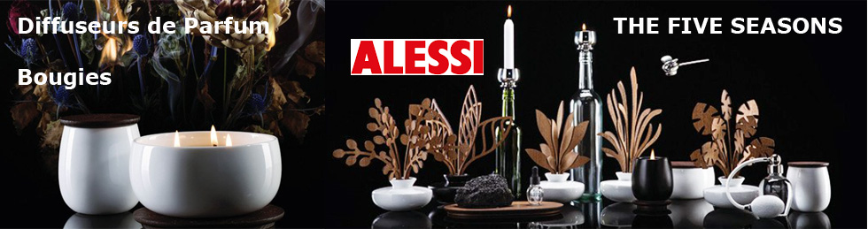 ALESSI Bougies Diffuseurs collection THE FIVE SEASONS