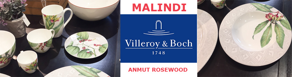 VILLEROY BOCH collections MALINDI et ANMUT ROSEWOOD