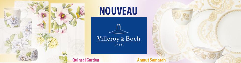 VILLEROY BOCH collections QUINSAI GARDEN et ANMUT SAMARAH