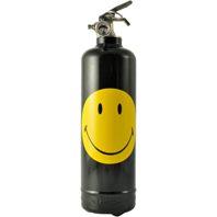 Appareil d'Extinction Design Smiley Classic Noir FIRE DESIGN