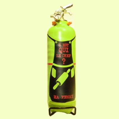Appareil d'Extinction Design Chef Vert Anis FIRE DESIGN pour 108€