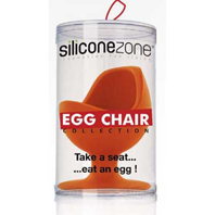 Coquetier Egg Chair Siliconezone Orange pour 8€