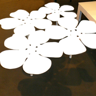 Table Bouquet Notus XL Blanc Mat