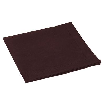 Serviette de Table Lin Coton Choco pour 6€