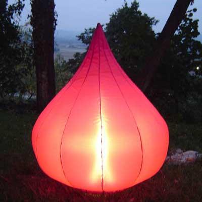 Lampe de Jardin Gonflable Figue Pourpre   Boutique Design Feria