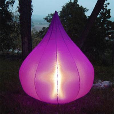 Lampe de Jardin Gonflable Figue Violet | Boutique Design Feria