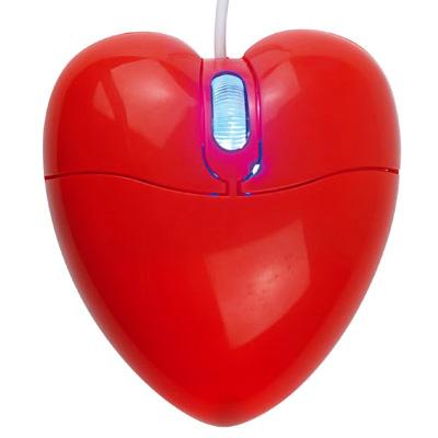 Souris Lumineuse Coeur pour 10€