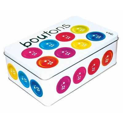 Boîte Métal Boutons pour 10€