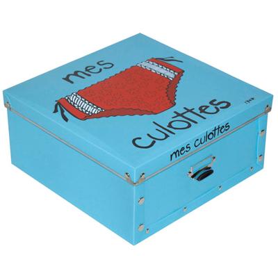Boîte Mes Culottes Turquoise pour 12€