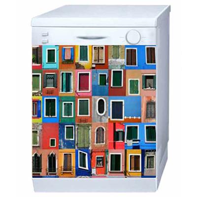 Magnet Déco Lave Vaisselle Venise Les Fenêtres pour 50€