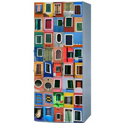 Magnet Frigo Déco 85 x 60 Venise Les Fenêtres pour 65€