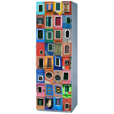 Magnet Frigo Déco 150 x 60 Venise Les Fenêtres pour 109€