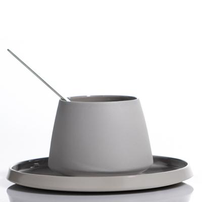 La Tasse à Thé Porcelaine de Chine ZEN Gris Perle pour 25€