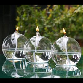 3 Lampes à Huile de Table Soliflores pour 59€