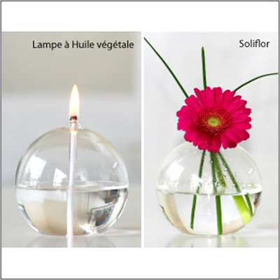 1 Lampe à Huile de Table Soliflore pour 29€
