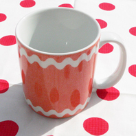 Mug Croquet Orange SABRE