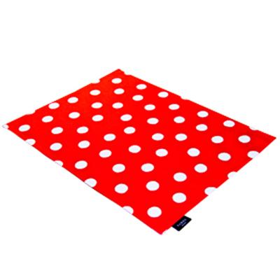 Le Set de Table Pois Blanc Fond Rouge SABRE pour 11€