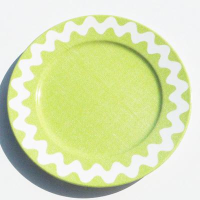 Assiette Croquet Vert Clair 17 cm SABRE pour 10€