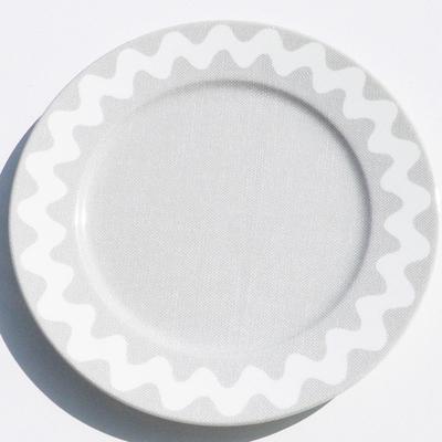 Assiette Croquet Gris 17 cm SABRE pour 10€