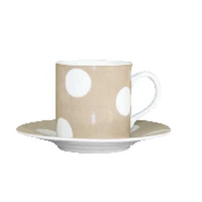 Tasse à Café Pois Beige SABRE pour 9€