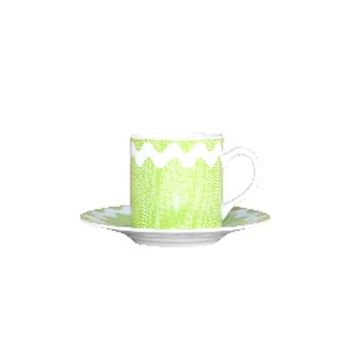 Tasse à Café Croquet Vert Clair SABRE pour 9€