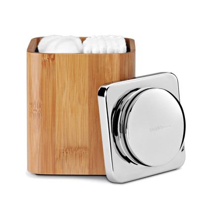 Boîte Rangement Coton en Bambou Naturel Simplehuman pour 24€