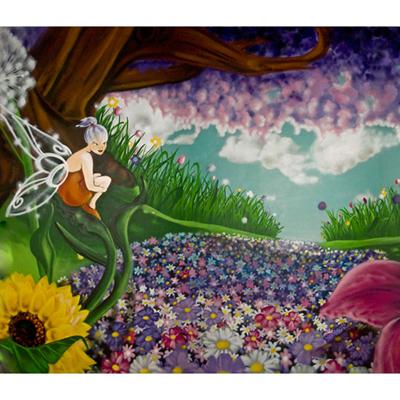 Papier Peint Fée Clochette 300 x 260 cm pour 359€