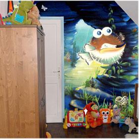 Papier Peint Le Trésor 2 de La Mer de Corail 300 x 260 cm pour 359€